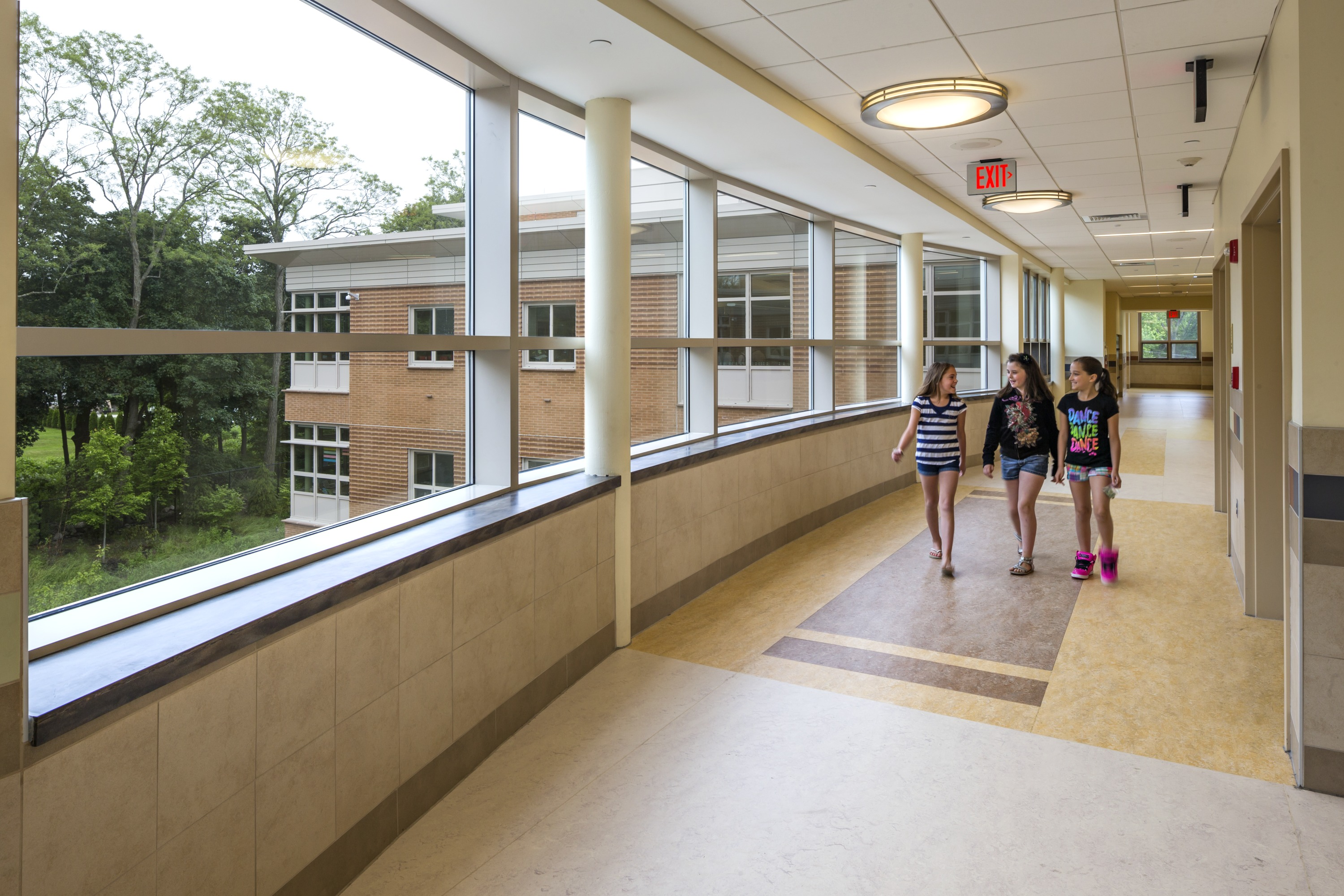 Curved Wall design to support special education needs