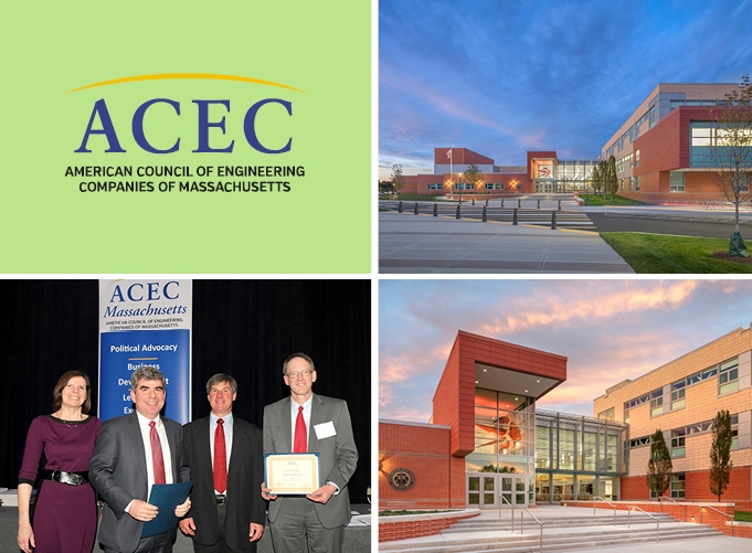 SMMA's Design for Winchester High School Earns Bronze in ACEC/MA Engineering Excellence
