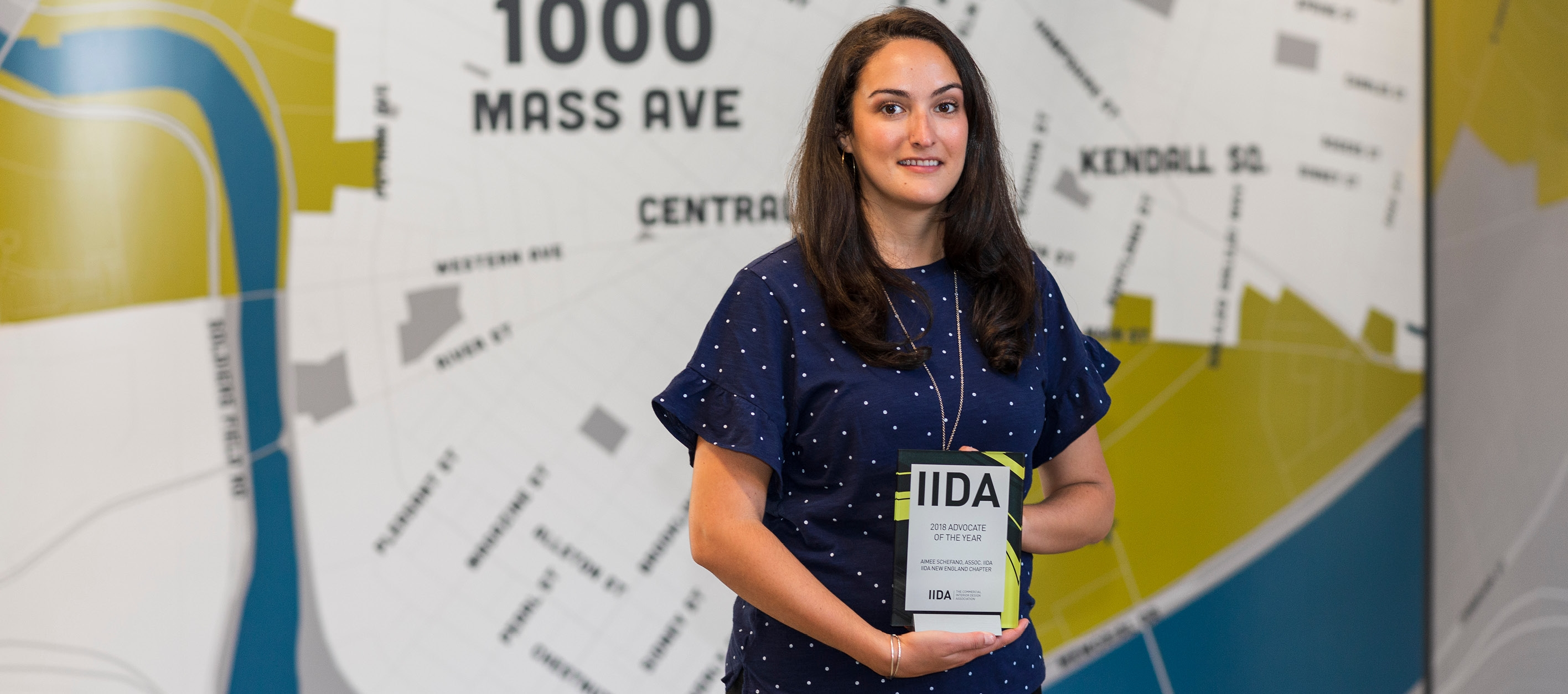 Aimee Schefano named IIDA's 2018 Advocate of the Year