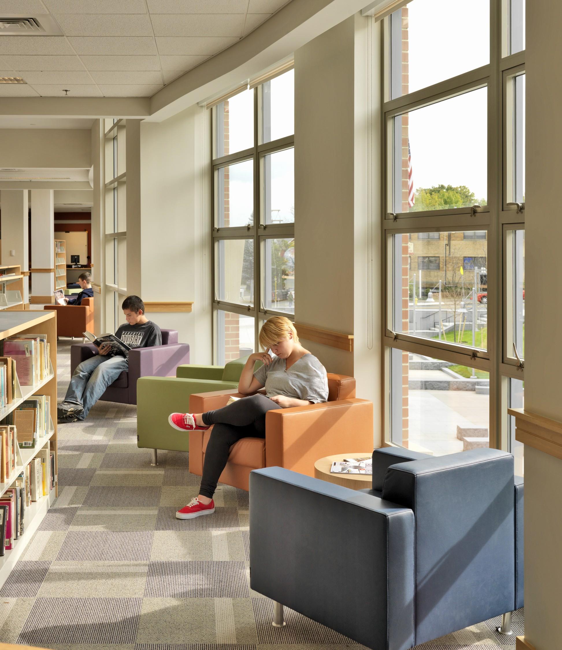 Quincy High School Library