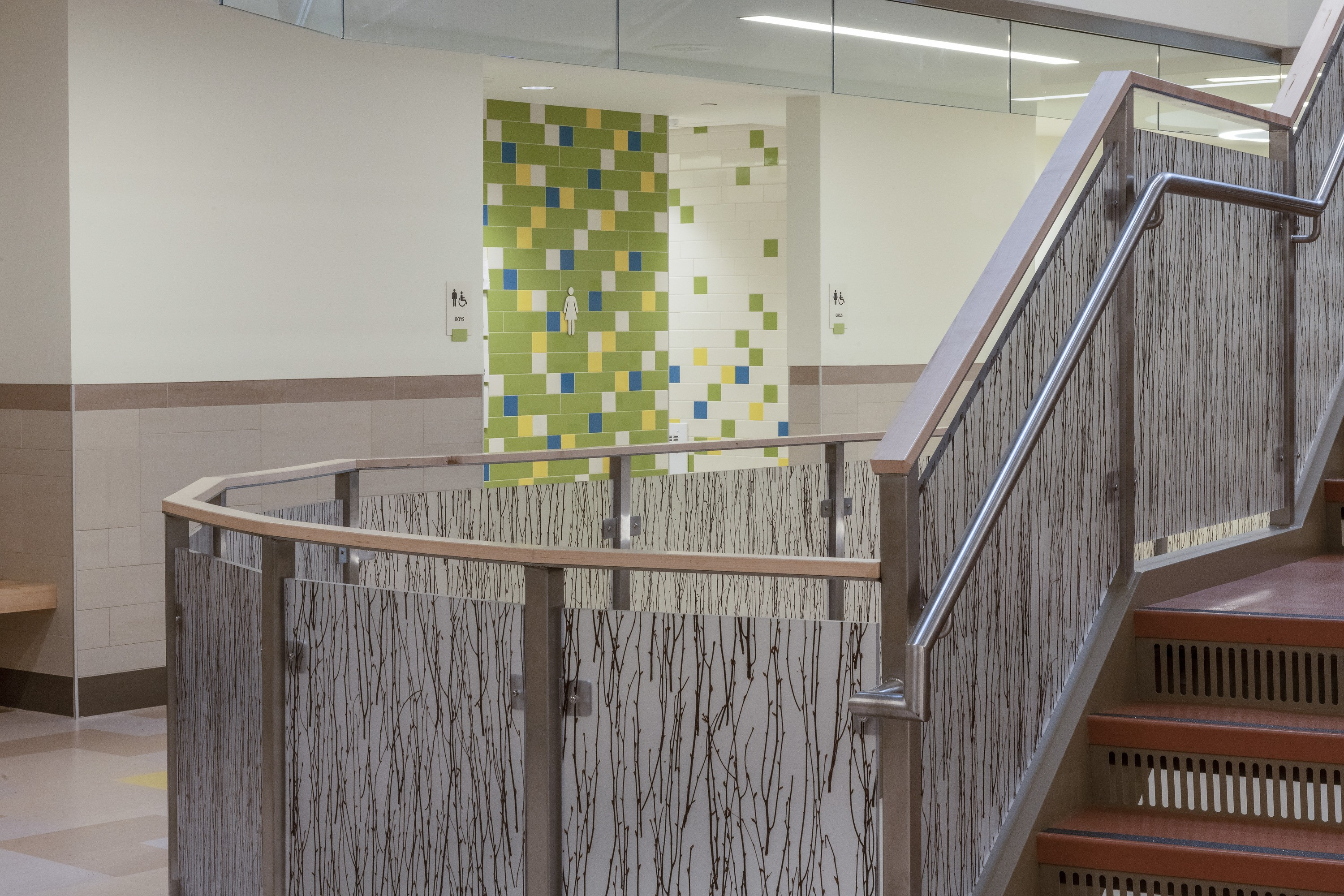 Templeton Elementary School Interior Circulation