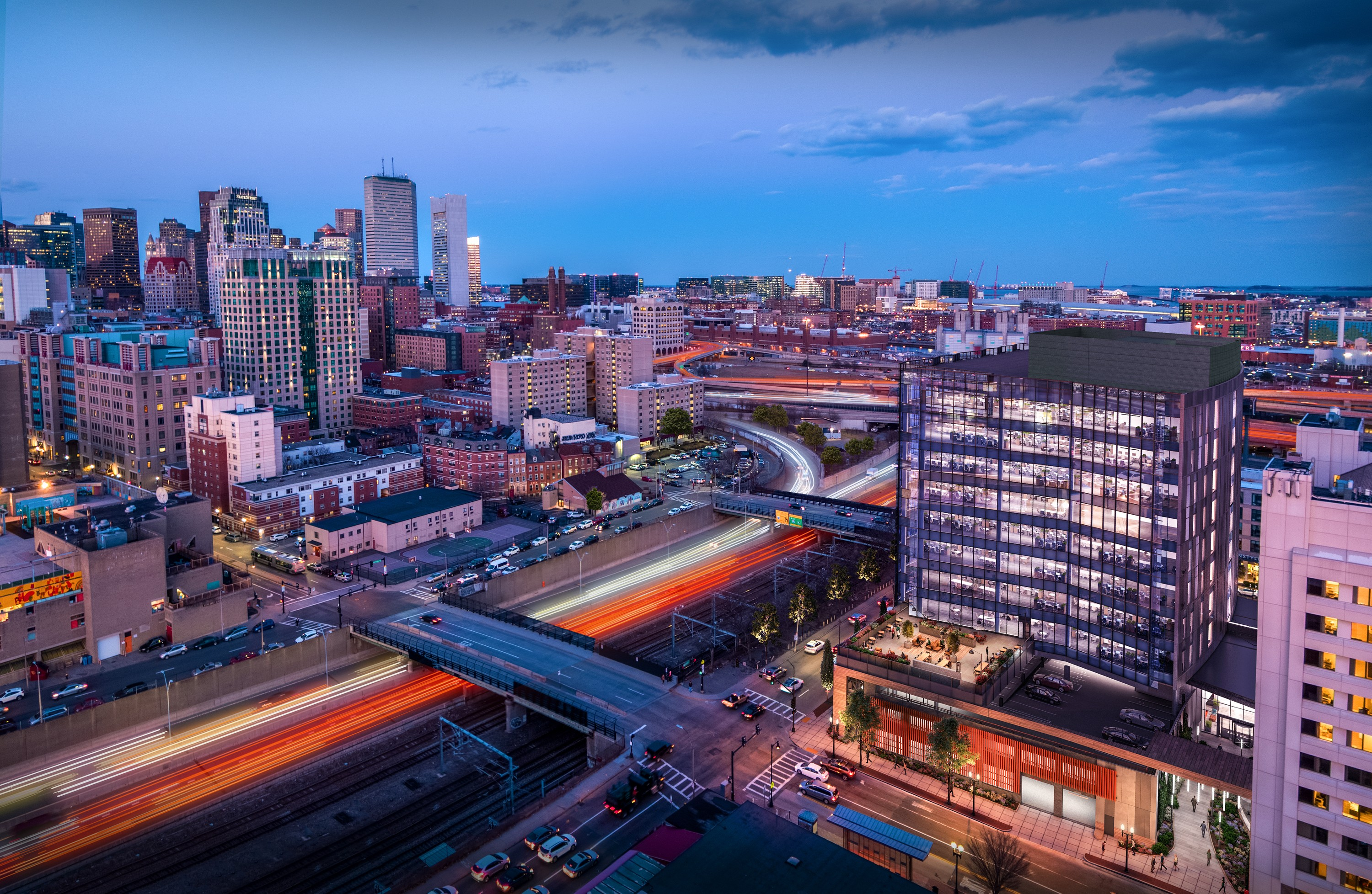 321 Harrison Avenue Rendering Downtown Boston