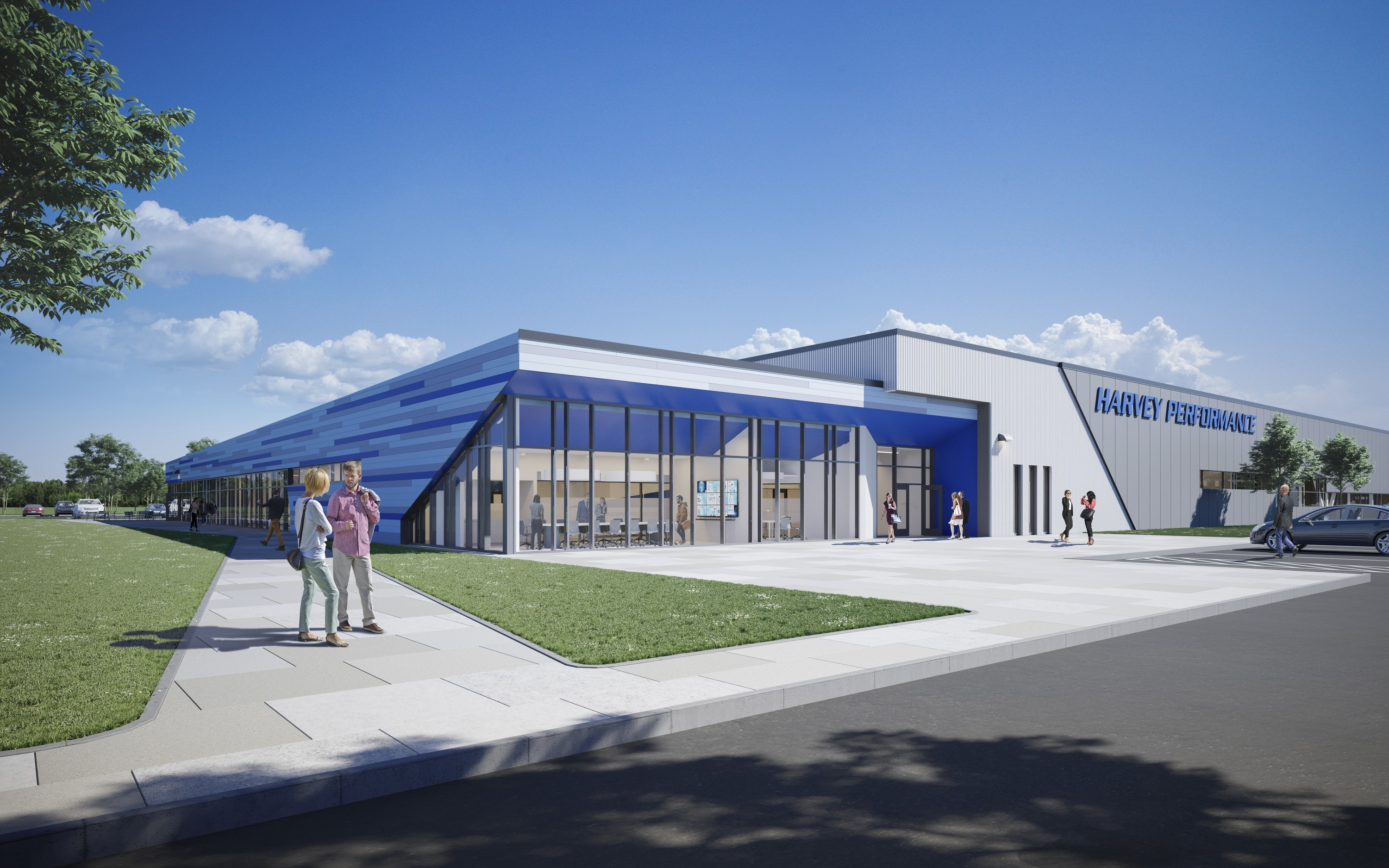 SMMA designed the Harvey Performance Facility in Gorham, Maine.