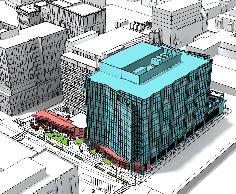 321 Harrison Avenue Boston South End Office Building Rendering