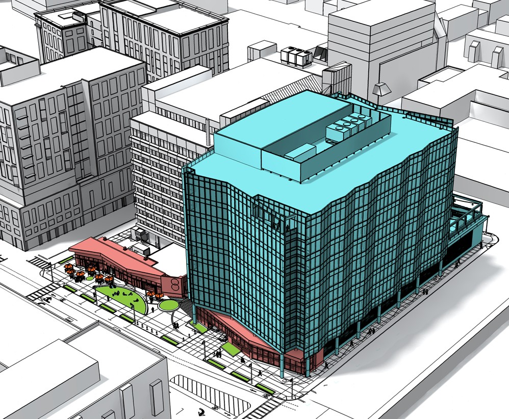 321 Harrison Avenue Boston South End Office Building Rendering
