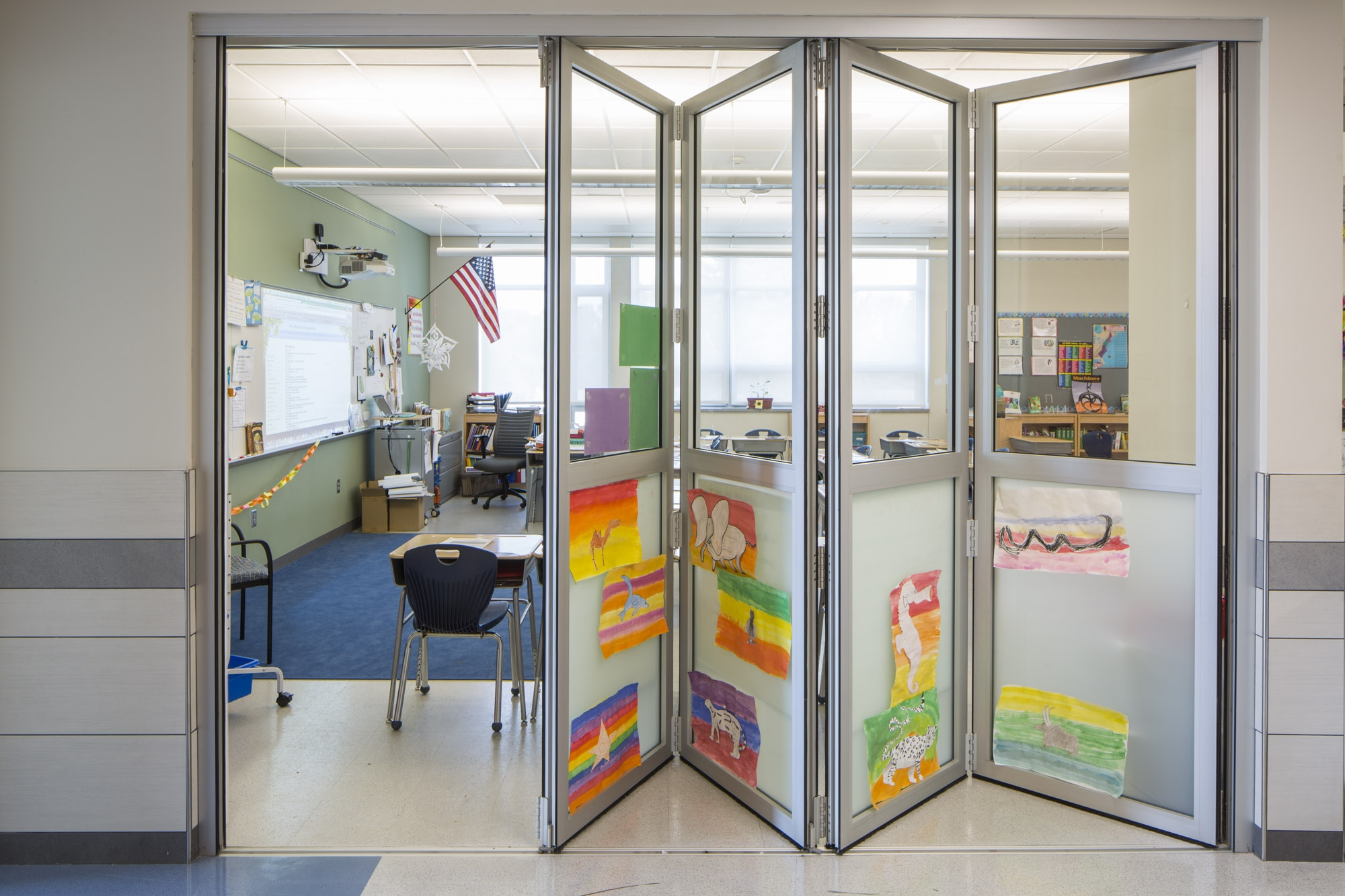 Bancroft Elementary School Classroom Design