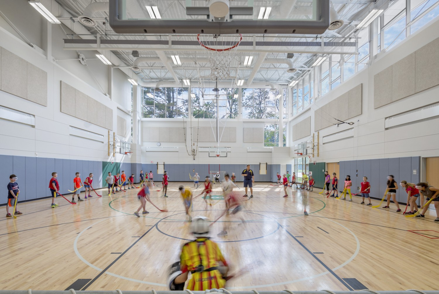 Bancroft Elementary School Gym Design
