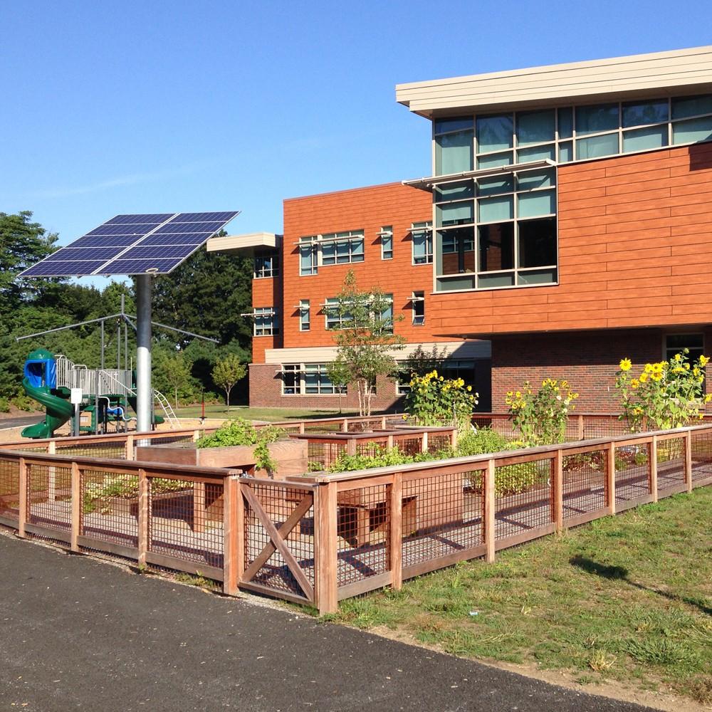 Bancroft Elementary School, landscape design by SMMA