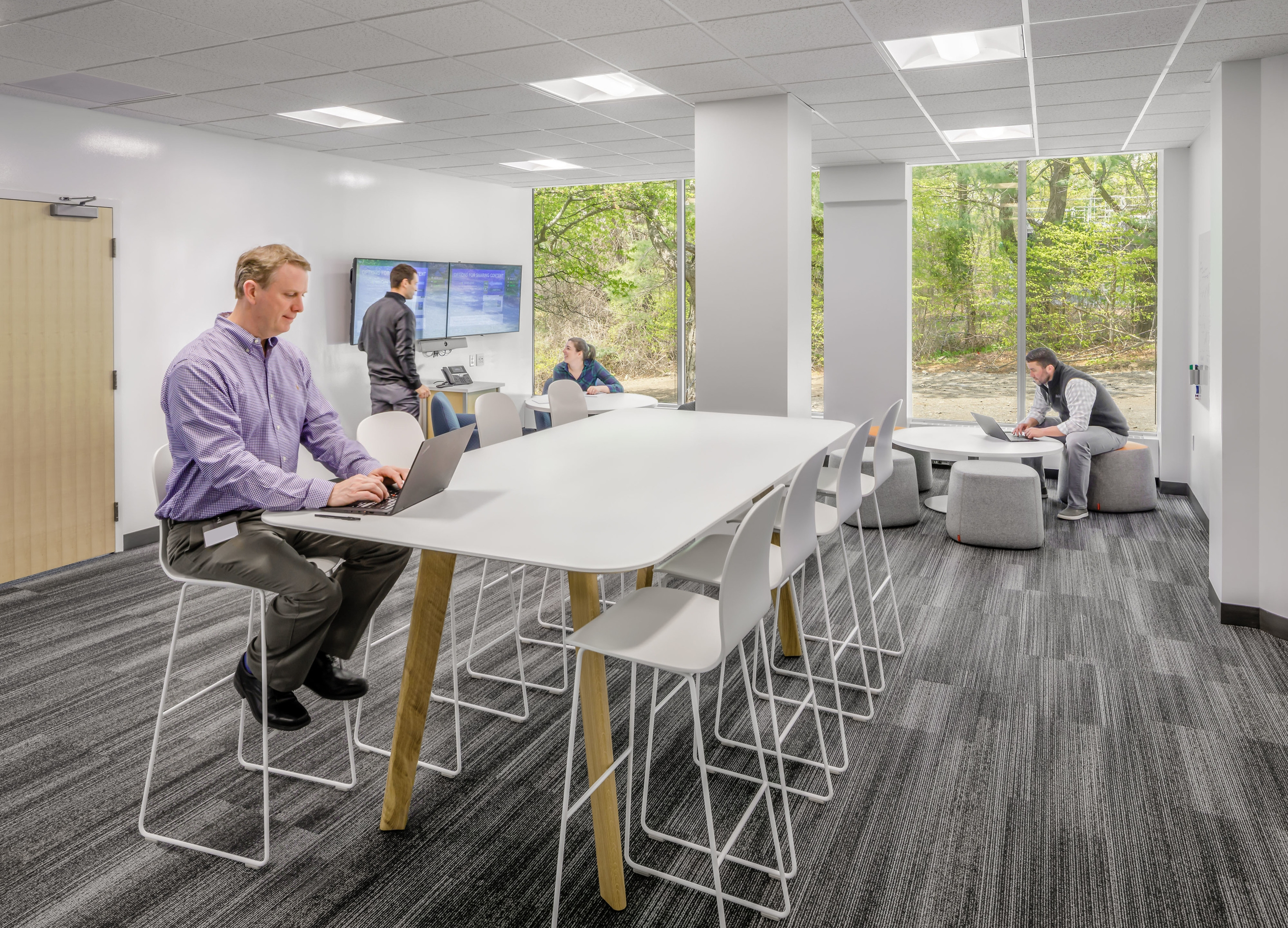 Medical devices and support functions create a Center of Excellence at 125 Spring Street.