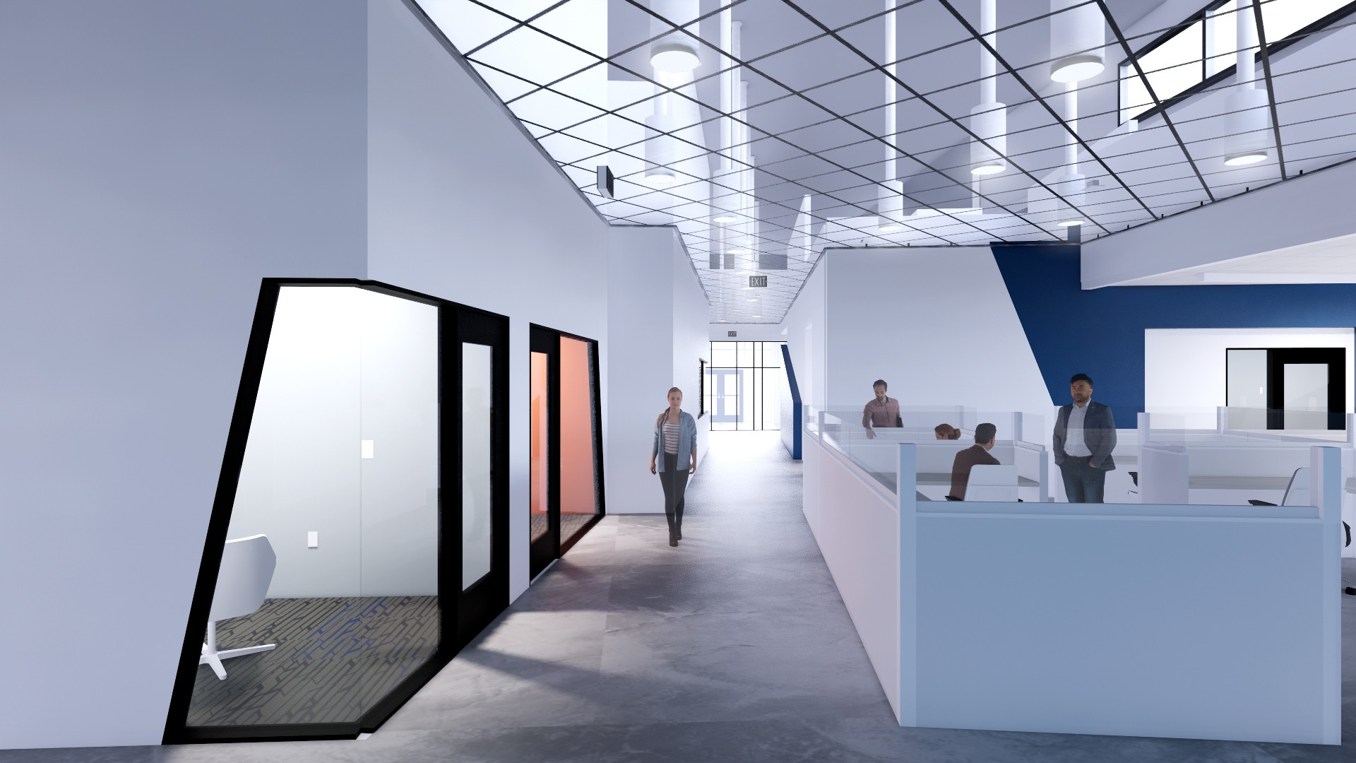SMMA designed the Harvey Performance Facility in Gorham, ME.