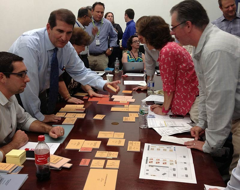 Design workshop with Cytiva stakeholders for new Northeast headquarters