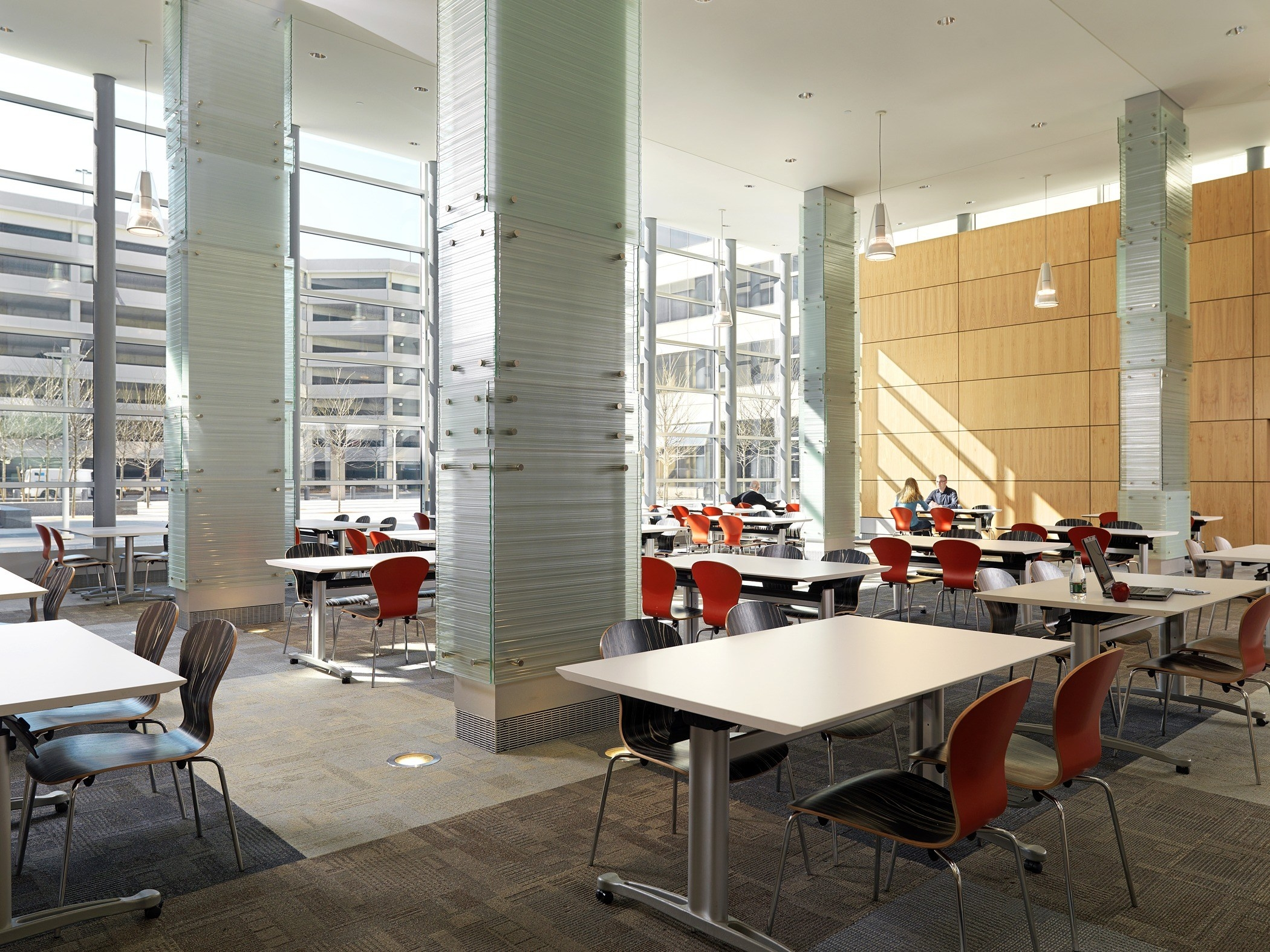 Renovated Cafeteria at Draper Labs
