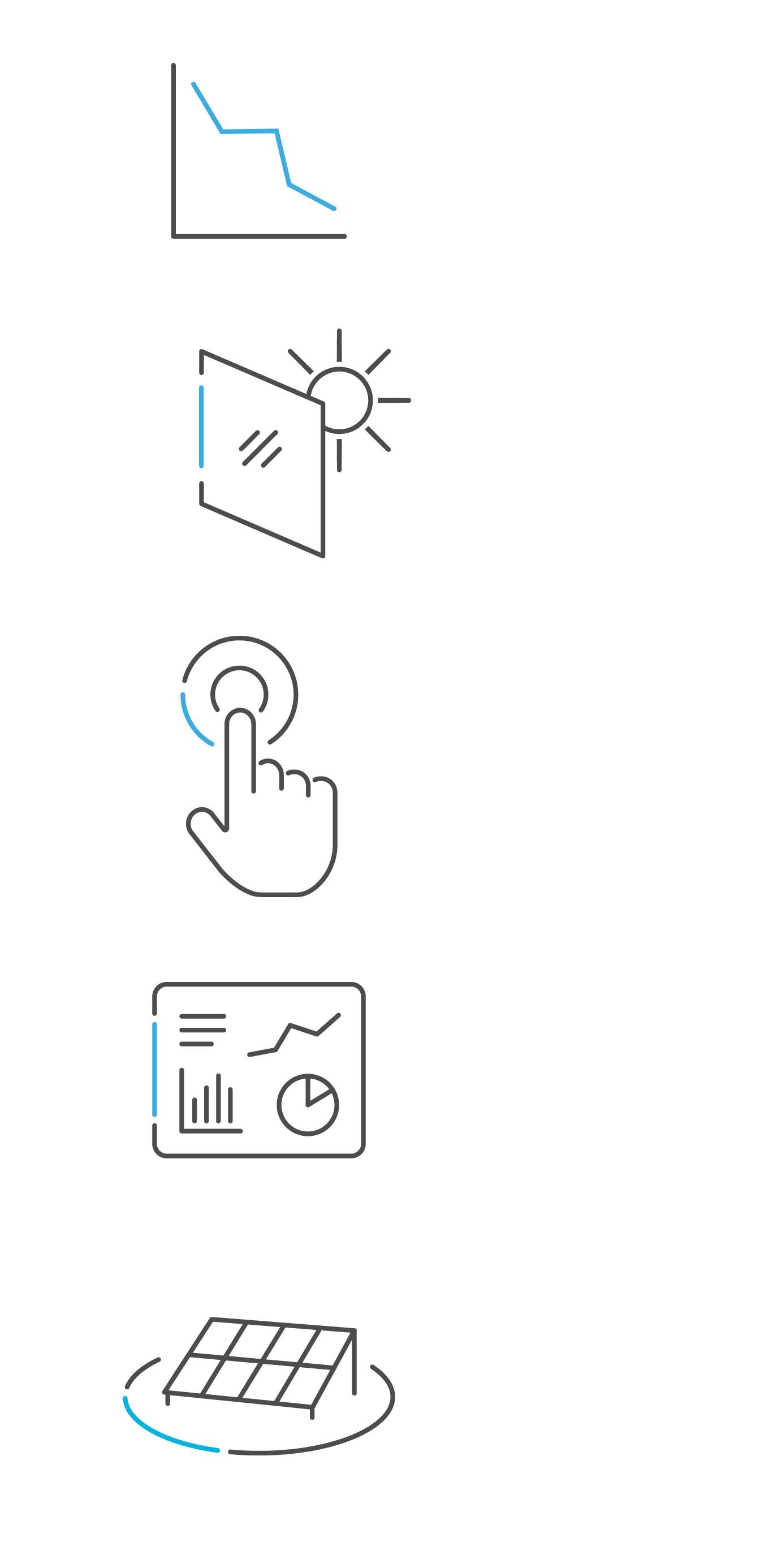 Net Zero Energy Icons