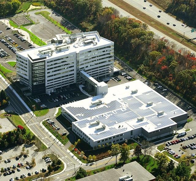 Keurig Headquarters Aerial View