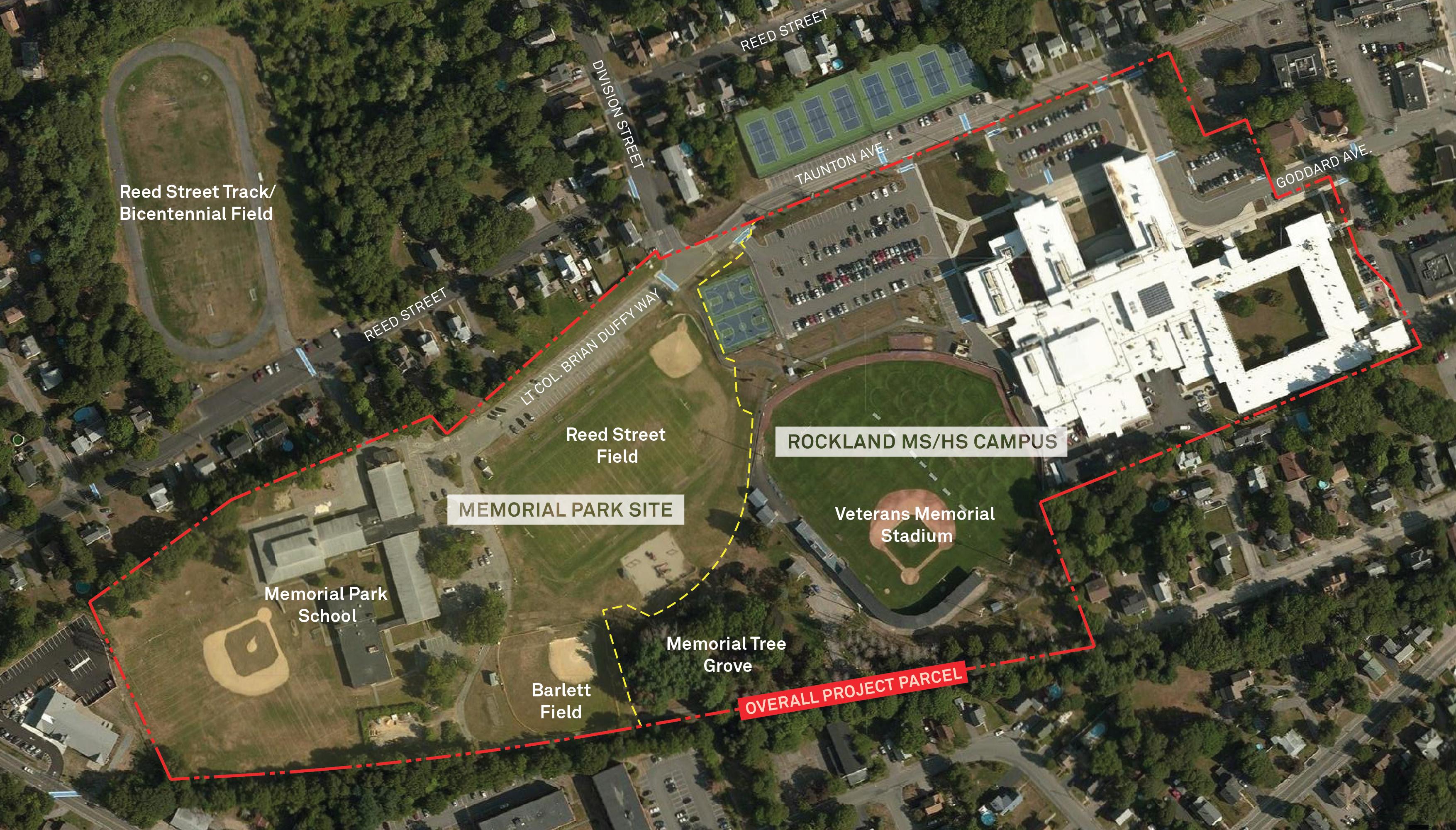 Rockland Public Schools Site Plan