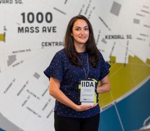 Aimee Schefano named IIDA's 2018 Advocate of the Year