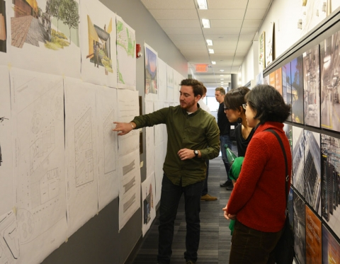 SMMA Symmes Maini McKee Associates Hosts Roger Williams University Architecture Design Critique
