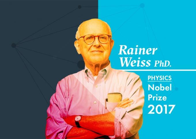 Rainer Weiss Landing