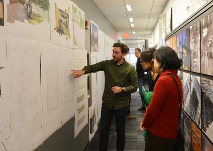 SMMA Symmes Maini McKee Associates Hosts Roger Williams University Architecture Design Critique