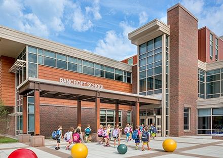 SMMA Architect Plan for Bancroft Elementary School