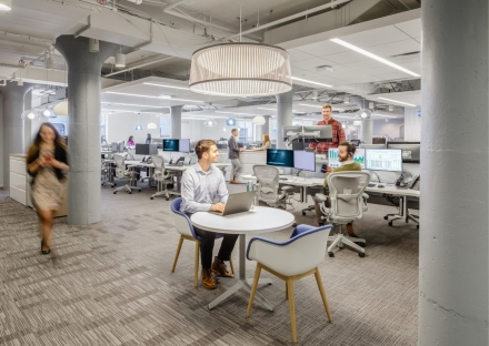 Back-End high performance workspace at 451 D Street.