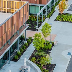 SMMA Landscape Design at 89 A Street Founders Park