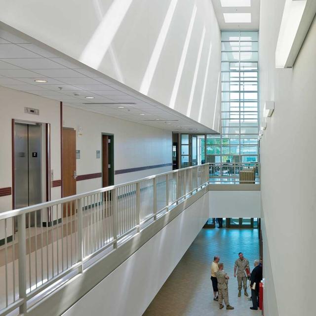 Fort Devens Lobby Design