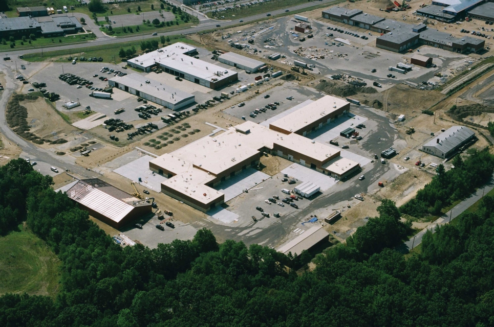 Aerial for Fort Devens