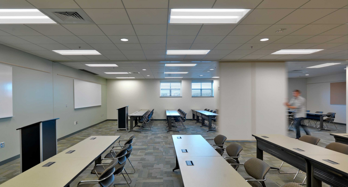 Classroom design for Fort Devens