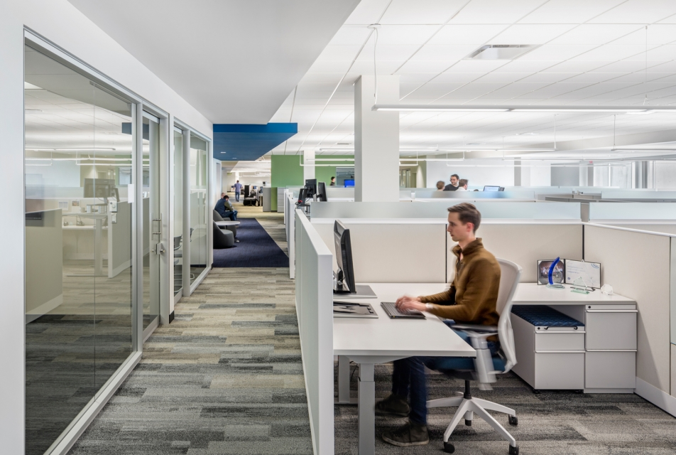 SMMA designed GE Healthcare Life Science Modern Workplace