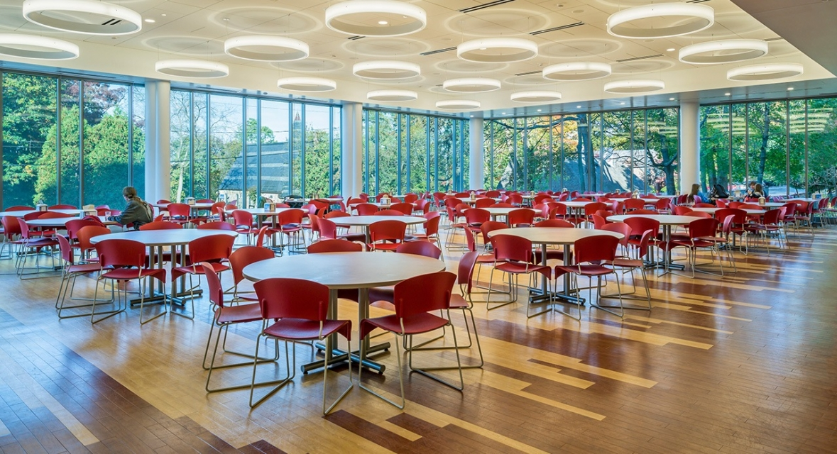Design of McCarthy Dining Commons, Framingham State University