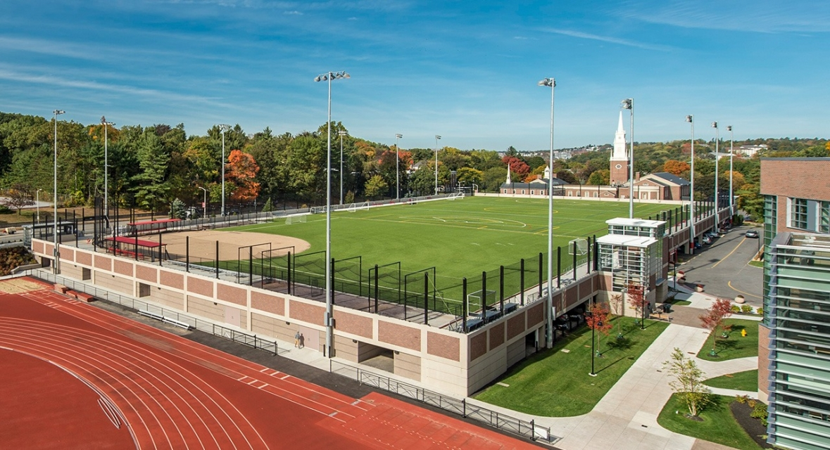 Elevated Athletic Field and Parking Garage, Worcester Polytechnic Institute