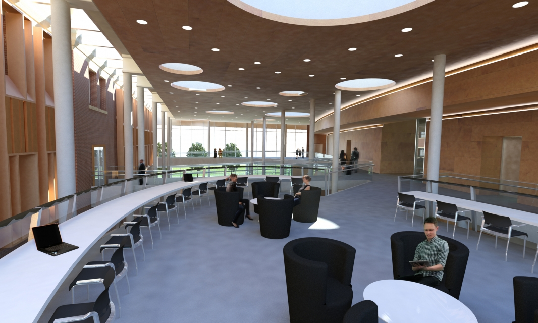 Classroom Rendering for Architecture and Engineering