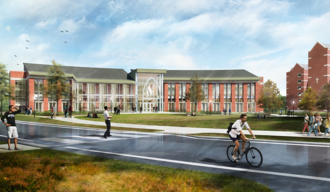 School of Business Rendering for Architecture, Engineering, and Site Design