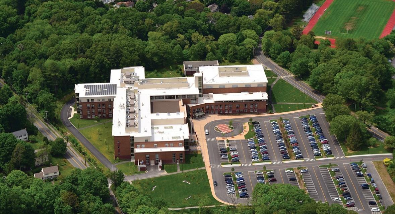 Wellesley High School Aerial View