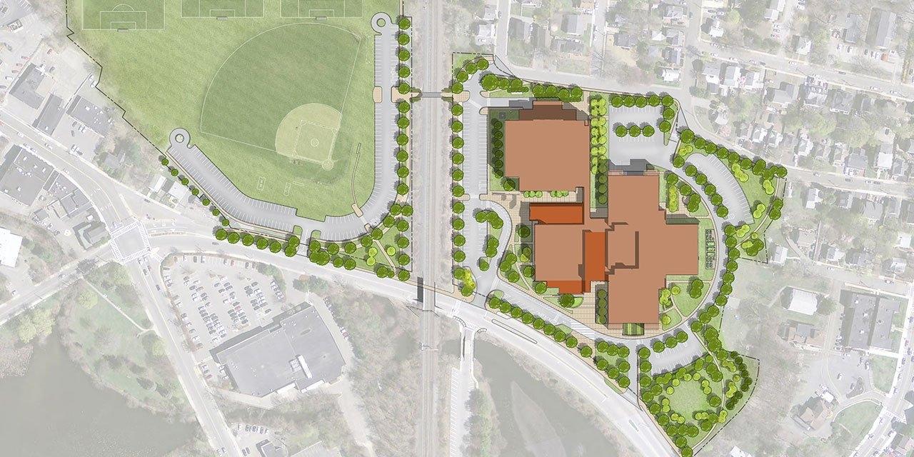 Winchester High School Site Plan