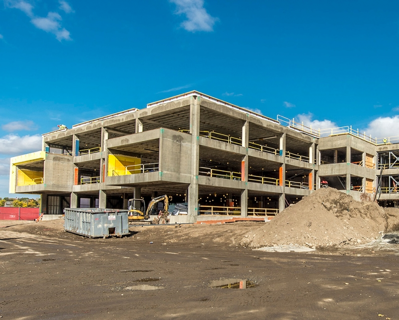 Construction of New Winchester High School