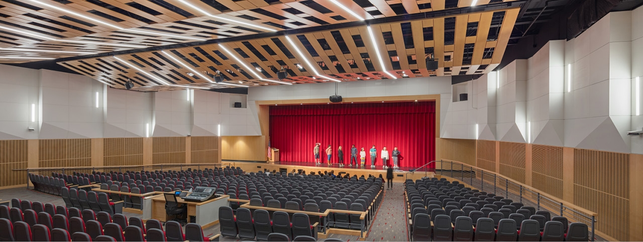 Architecture and Interior Design Services for Winchester High School Auditorium